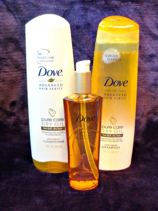 Find out how you can use Dove Pure Care Dry Oil to create some of the season's hottest hair trends!