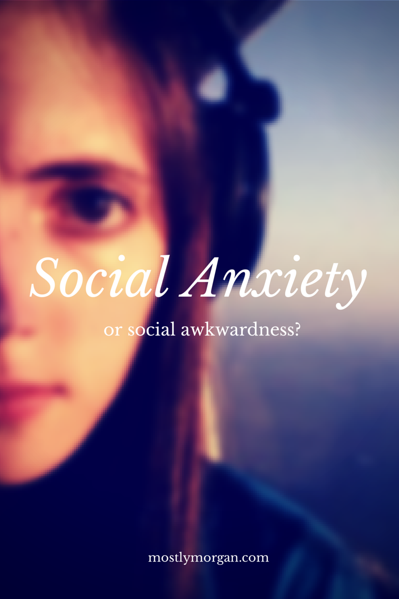 social anxiety vs social awkwardness