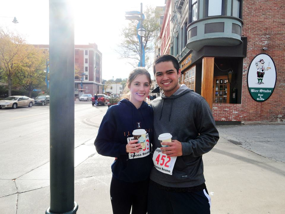 For a list of fun date ideas (like running a hot cocoa run!) check out www.mostlymorgan.com :)