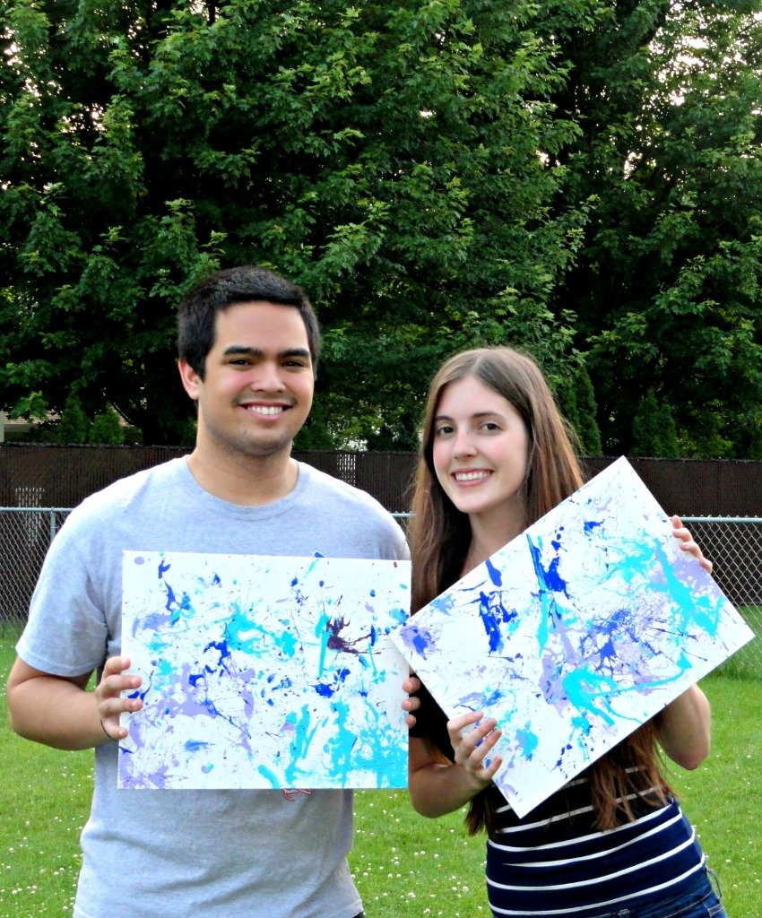 For a list of fun date ideas (like throwing darts at paint balloons!) check out www.mostlymorgan.com :)