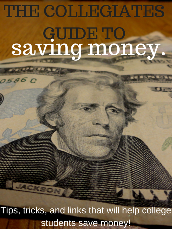 Saving money in college can be tough - but I've got you covered!