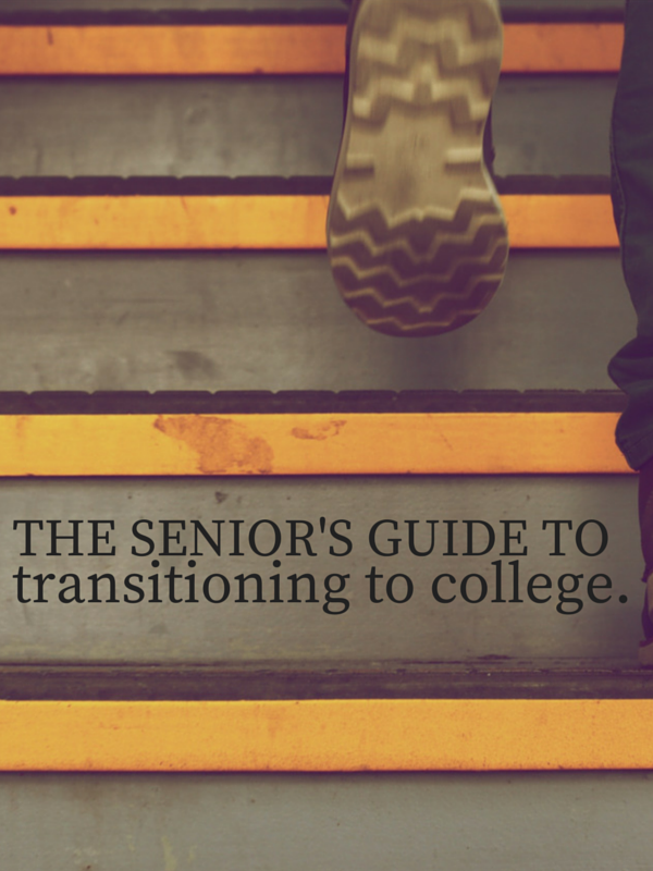 The transition into college doesn't have to be as hard as some people make it out to be - properly prepare beforehand and it'll be a breeze!