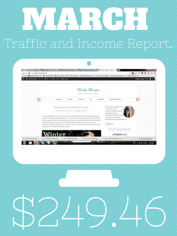 Traffic and Income Report.