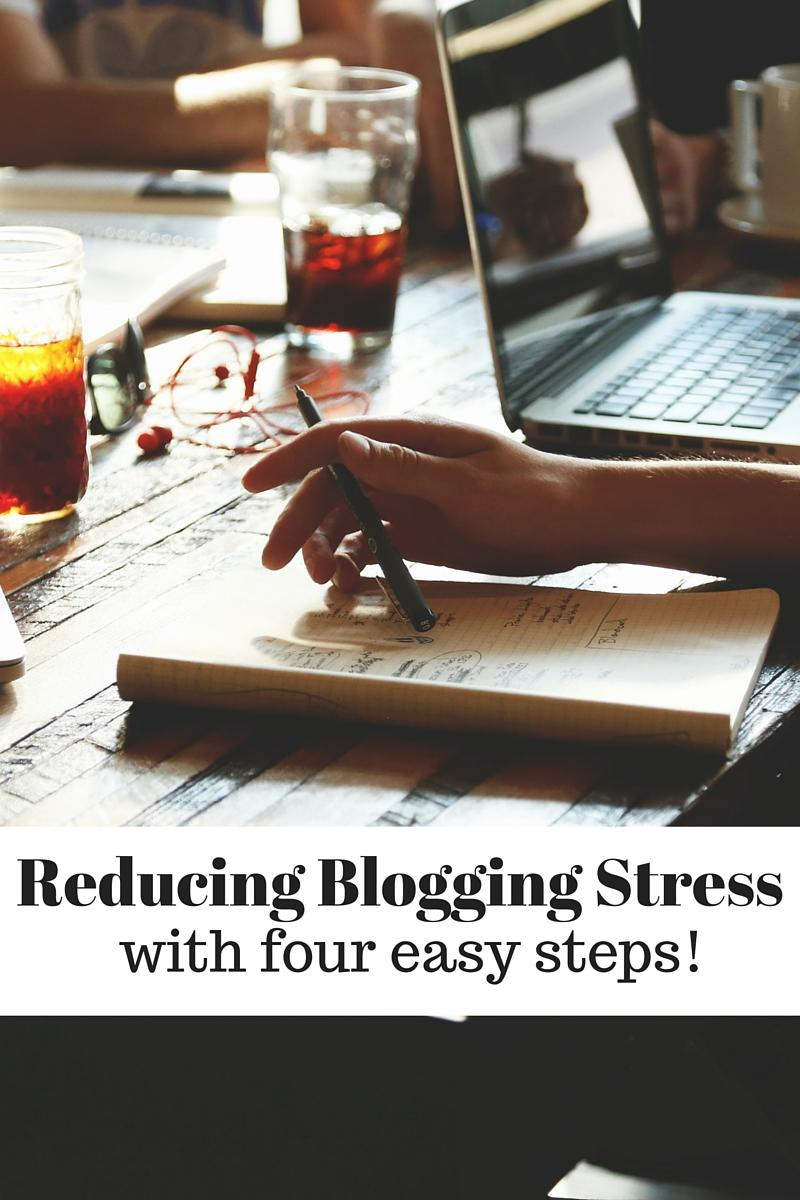 REDUCING BLOGGING STRESS.