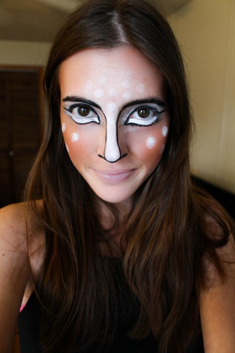 Last Minute Halloween Makeup!