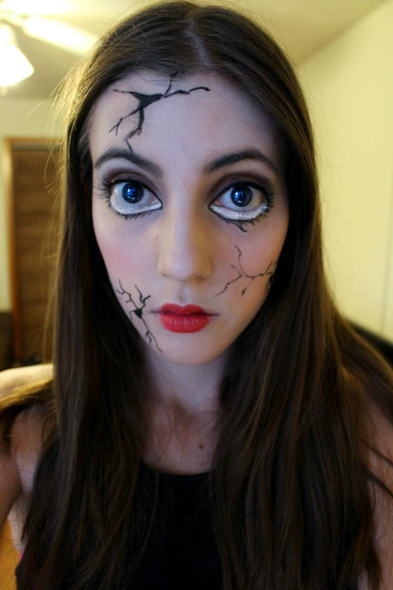 5 Last Minute DIY Halloween Makeup Looks - Mostly Morgan