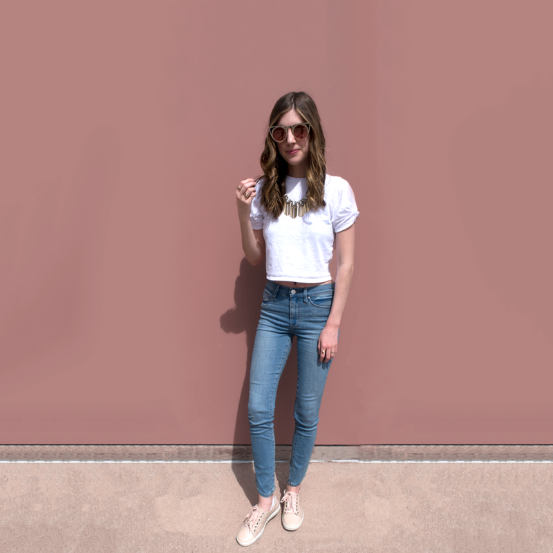 7111162f5e How to Dress Up a Casual Outfit in 5 Minutes - Mostly Morgan