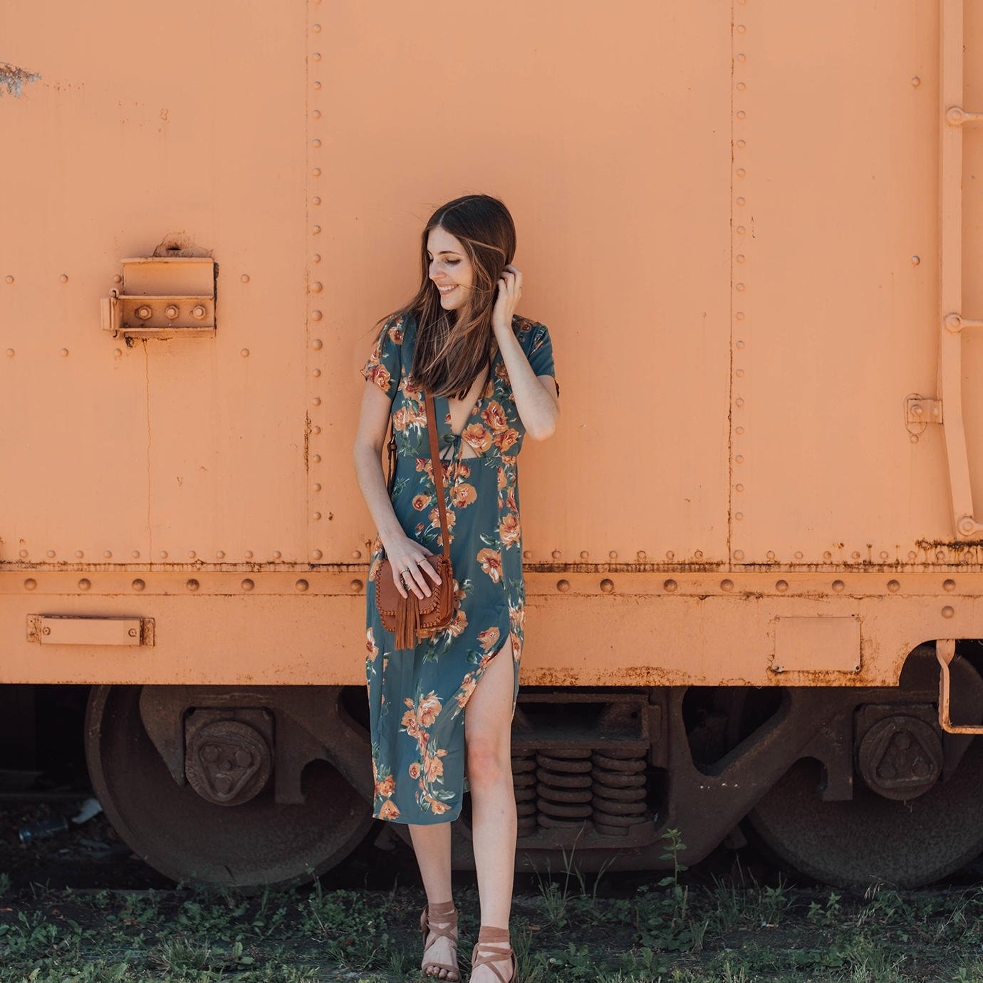 Summertime is for farmers markets and floral dresses.