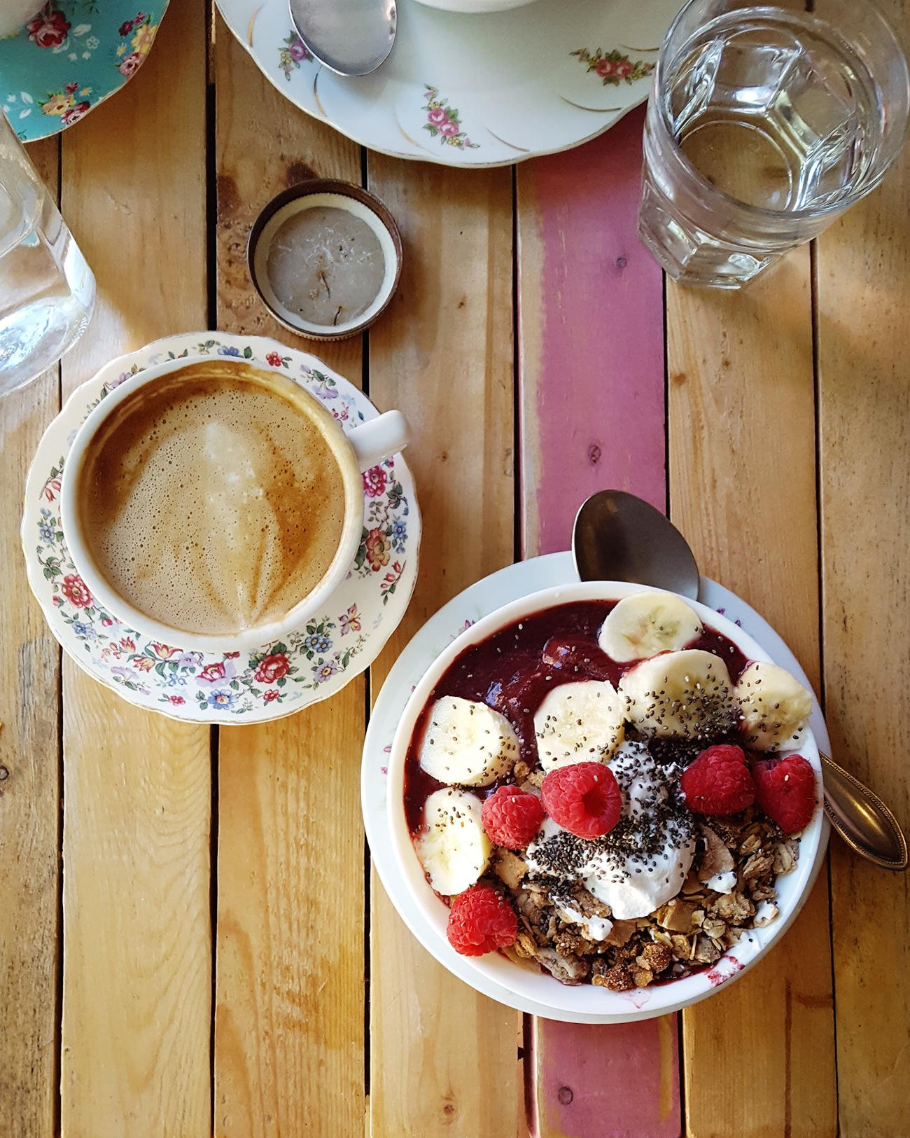 Little Choc Apothecary in Brooklyn offers an array of vegan treats like crepes, smoothie bowls, and coffee drinks.