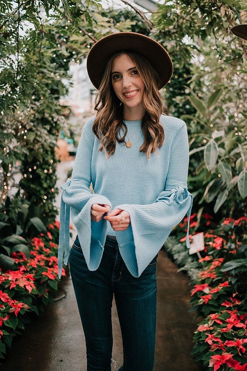 Click through to shop this outfit and read about my blogging goals for 2018.